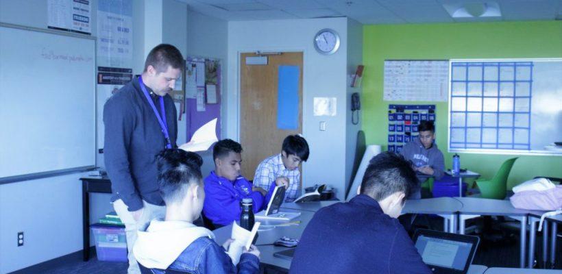 Teacher Highlight – Mr. Kyle Berg