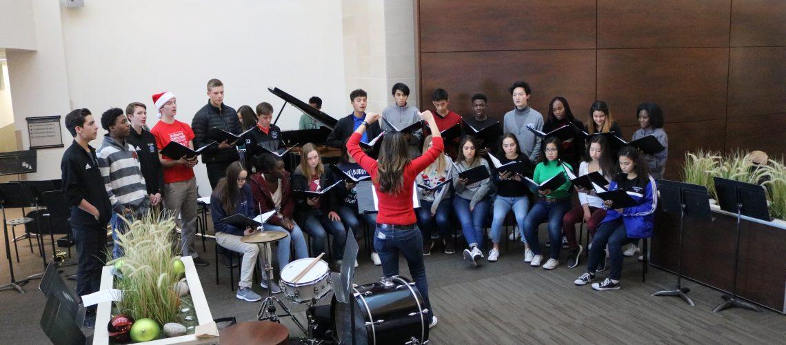 Upper school choir