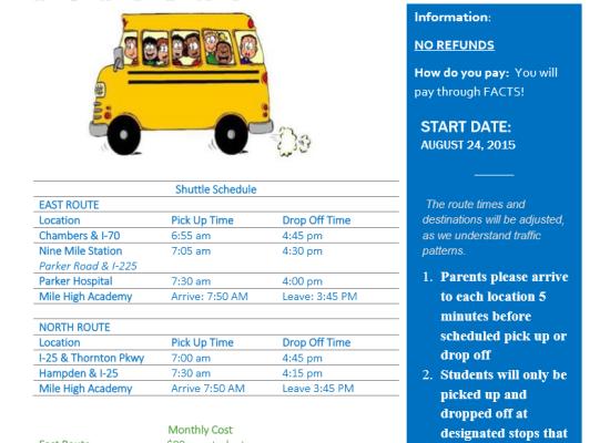 Bus Ride Update!