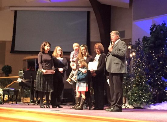 Danielle Cress Receives Commissioning