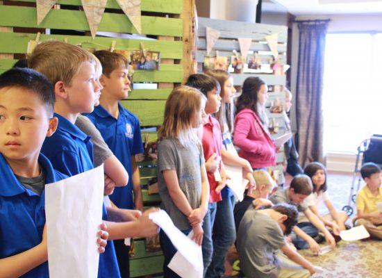 3rd Grade Presents at Wind Crest